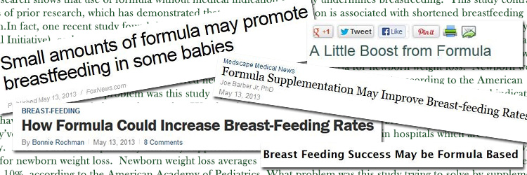 Misleading Formula Headlines