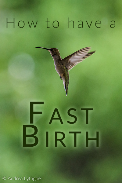 Tips for a faster birth