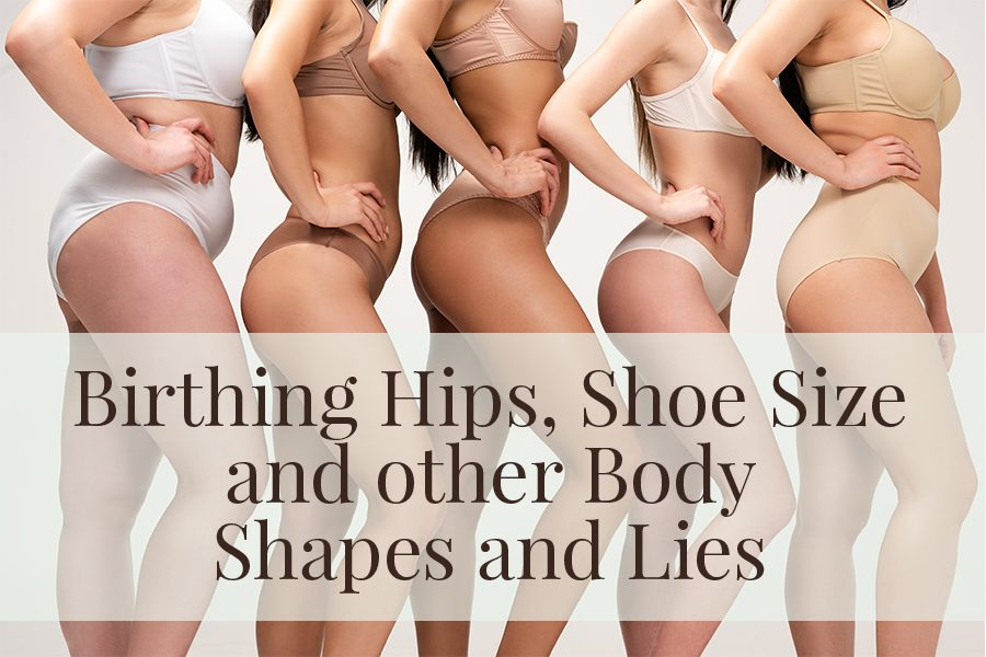 Women of all different shapes and skin tones with hands on their hips