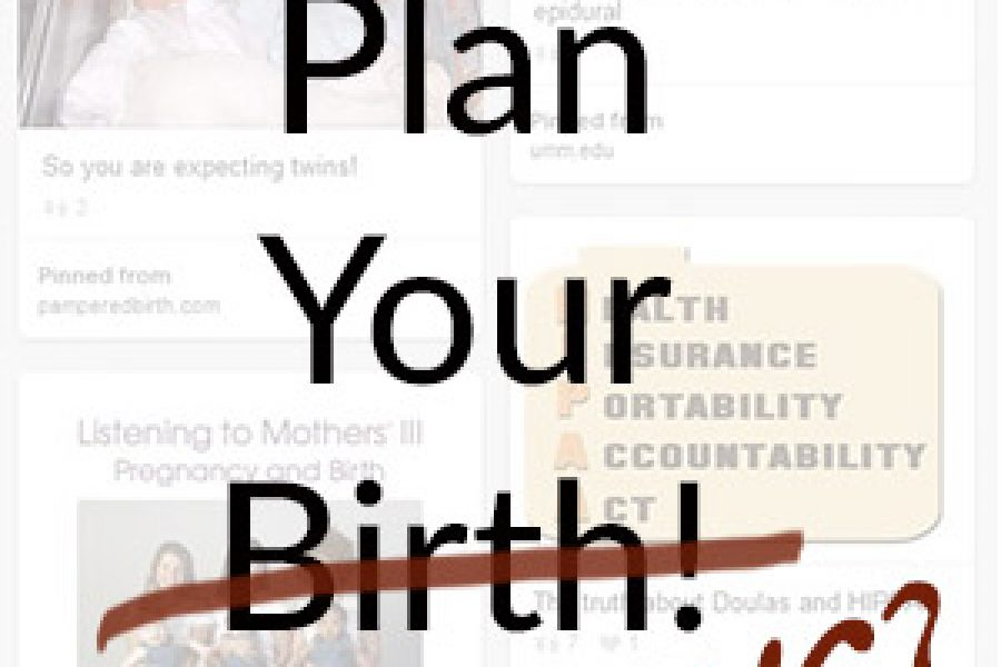 Don't Plan Birth